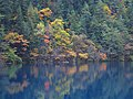 老虎海倒影 - Reflections at Tiger Lake - 2011.10 - panoramio.jpg
