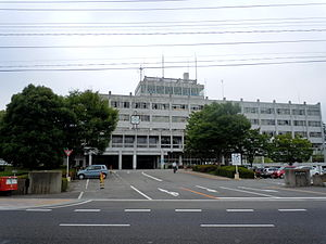 Kōriyama - Kōriyama city hall