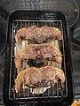 -2020-20-21 Cooked double lamb chops, Trimingham, Norfolk.JPG