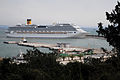 -Costa Concordia- cruise liner in coast waters near Katakolo. Pyrgos, Western Elis, Greece.jpg