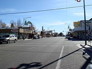 Lone Pine, California - U.S. Route 395 makes up the main street in Lone Pine
