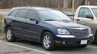 Chrysler minivans - 2004-2006 Chrysler Pacifica based on the Chrysler CS platform