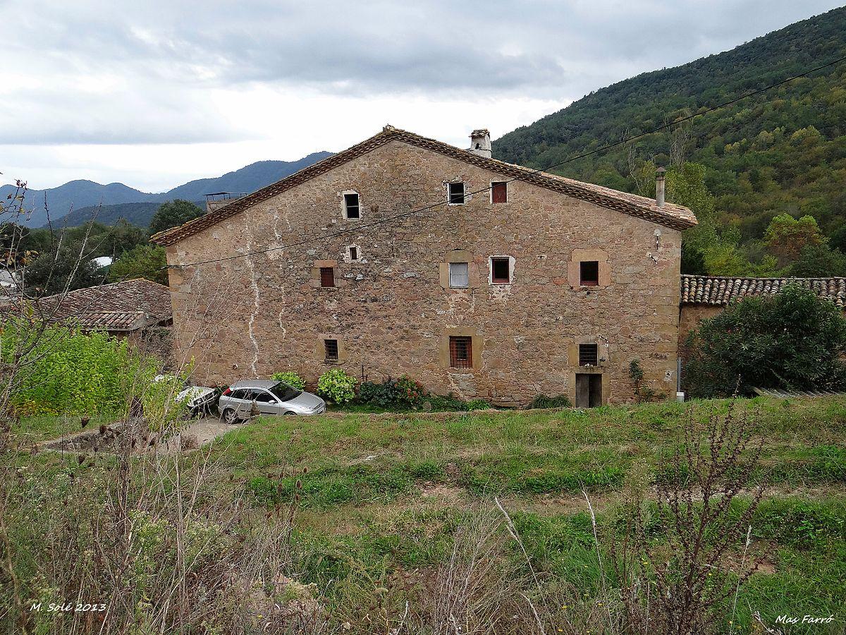 Gran masia del farr viquip dia l 39 enciclop dia lliure - Casas en llica de vall ...