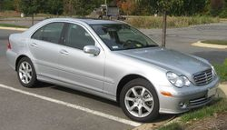 2006-2007 Mercedes-Benz C350 sedan (US)