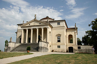 """Villa Capra """"La Rotonda"""" - Image: 08 Villa Rotonda Palladio"""