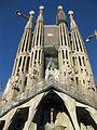 086 Sagrada Família, façana de la Passió i torres.jpg