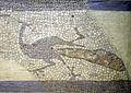 093 Santa Maria de Terrassa, mosaic amb paó, de l'antiga seu d'Ègara.JPG