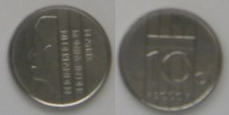 Dubbeltje - 10 Cent, 2000
