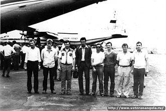 1985 Aeroflot Antonov An-12 shoot-down - Crew of SSSR-11747
