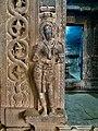 11th century Panchalingeshwara temples group, Kalyani Chalukya, Sedam Karnataka India - 65.jpg
