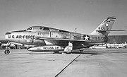 122d Tactical Fighter Wing - Republic F-84F-40-RE Thunderstreak 52-7079