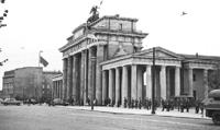 Az NDK határőrségének felvonulása 1961. augusztus 13-án
