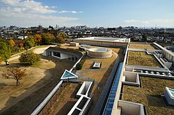 A view from Hyogo Prefectural Museum of Archaeology