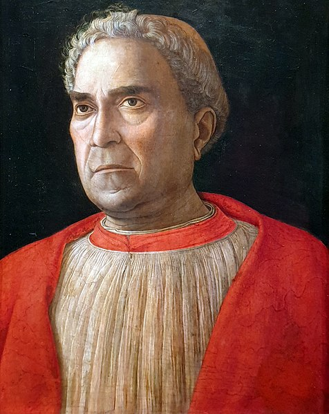 Ca s'est passé en septembre ! 476px-1459_Mantegna_Kardinal_Ludovico_Trevisan_Gem%C3%A4ldegalerie_anagoria