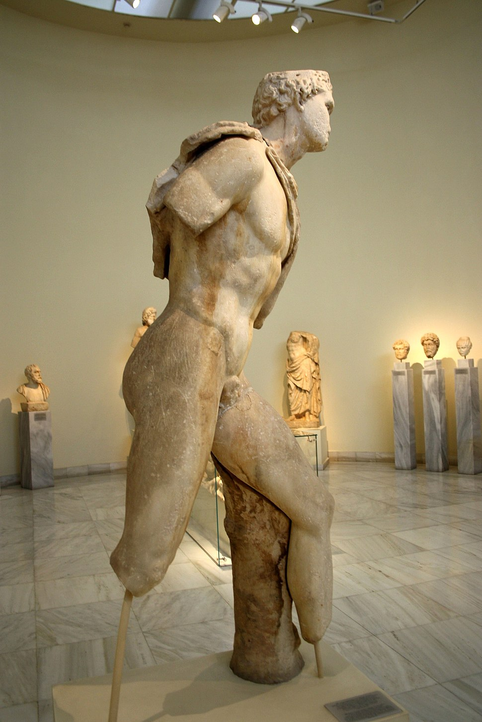 1624 - Archaeological Museum, Athens - Hermes or Perseus - Photo by Giovanni Dall%27Orto, Nov 11 2009