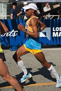 Meb Keflezighi Eritrean-born American long distance runner