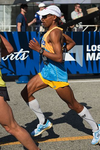 Meb Keflezighi - Meb Keflezighi at the 2016 Olympic Team Trials
