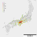1854 Iga Ueno earthquake intensity.png