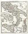 1865 Spruner Map of Southern Italy and Sicily - Geographicus - ItaliaeSicilia-spruner-1865.jpg