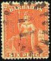 1872ca 6p Barbados 11 Yv23 Mi19C SG53.jpg