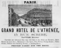 1885 Hotel Athenee Paris ad Harpers Handbook for Travellers in Europe.png