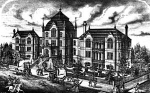 University of Texas Medical Branch - The First John Sealy Hospital