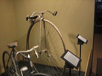 Panhandle–Plains Historical Museum - Turn-of-the-century bicycle at Panhandle-Plains Museum