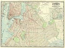 1897 Brooklyn map