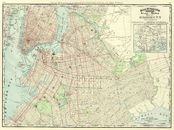 brooklyn map new york Brooklyn Wikipedia brooklyn map new york