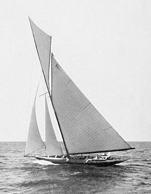 12-metre class - Swedish Erna Signe won silver at the 1912 Summer Olympics in 12 Metre class (1907 rule boat)