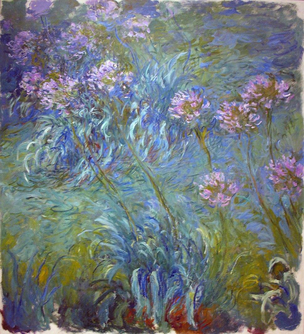 1914-26 Claude Monet Agapanthus MOMA NY anagoria