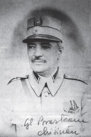 Ernest Broșteanu - General Ernest Broșteanu in Chișinău