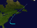 1917 Atlantic tropical storm 2 track.png