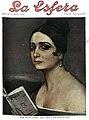 1922-02-04, La Esfera, Pilar Millán Astray, Julio Romero de Torres.jpg