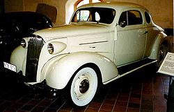 Chevrolet Master Serie GB Business Coupé (1937)