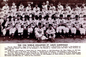 1946 World Series - Image: 1946 St. Louis Cardinals
