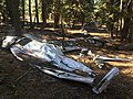 1947 Snell crash wreckage 08 - Fremont NF Oregon.jpg