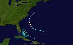 1948 Atlantischer Hurrikan 9 track.png
