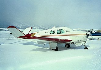 Randy Rhoads - A 1957 Beechcraft Bonanza Model H35, very similar to the 1955 model in which Rhoads died.