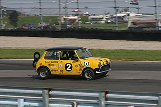 Sportscar Vintage Racing Association - 1962 Austin Cooper.