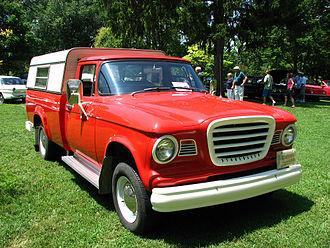 Studebaker Champ - 1962 Studebaker Champ Pickup