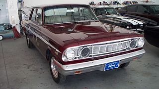 Ford Fairlane Thunderbolt A modified version of the Ford Fairlane built for drag racing