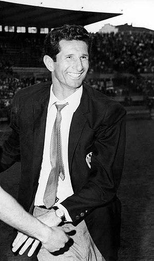 Heriberto Herrera - Heriberto Herrera with Juventus in 1967