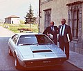 1970s Nuccio Bertone and Ferrari GT4.jpg