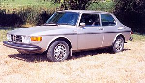 Valmet Automotive - Image: 1974Saab 99EMS US