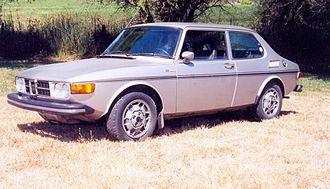 Valmet Automotive - Image: 1974Saab 99EMS US