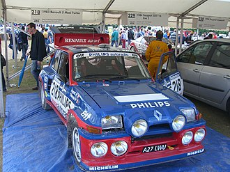Renault Sport - A Renault R5 Maxi Turbo