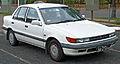 1988-1990 Mitsubishi Lancer (CA) SE sedan (2011-04-22) 01.jpg