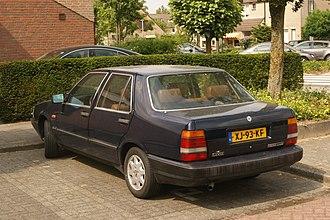 Lancia Thema - Image: 1989 Lancia Thema i.e. Turbo (8871006380)