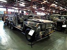 4a50e831e5 An Australian Army Long Range Patrol Vehicle used by the Special Air  Service Regiment.